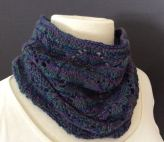 Oriel Cowl (knitting pattern, my design)