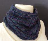 Oriel Cowl (knitting pattern, my design)