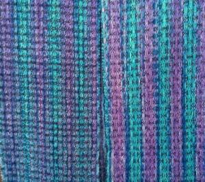 Alpaca/silk and tencel scarf