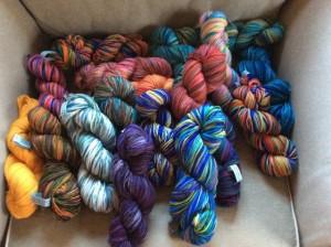 Ellen's luscious yarns