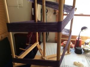 Winding warp