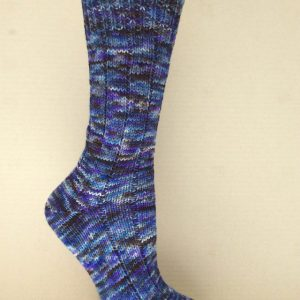 Close-up on sock
